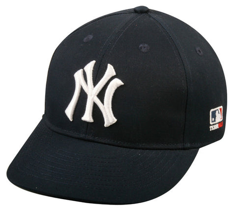 Outdoor Cap Co MLB-300 New York Yankees Home and Road Cap