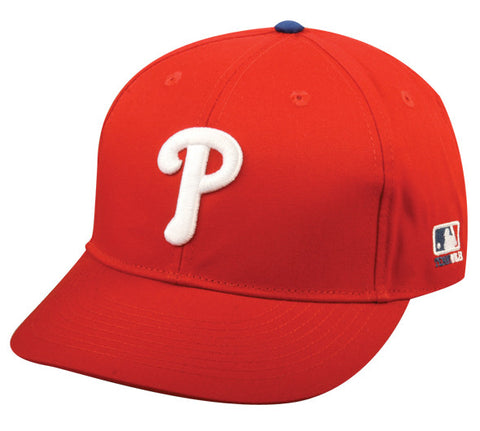 Outdoor Cap Co MLB-300 Philadelphia Phillies Home and Road Cap
