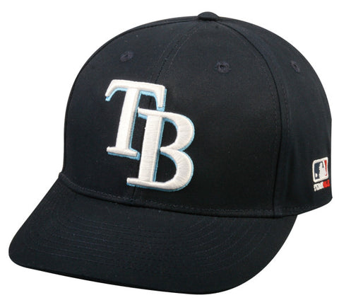 Outdoor Cap Co MLB-300 Tampa Bay Rays Home and Road Cap