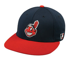 OC Sports MLB-595 Flex Fit Cleveland Indians Home Cap