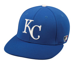 OC Sports MLB-595 Flex Fit Kansas City Royals Home and Road Cap