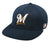 OC Sports MLB-595 Flex Fit Milwaukee Brewers Home and Road Cap