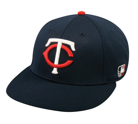 OC Sports MLB-595 Flex Fit Minnesota Twins Home Cap