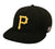 OC Sports MLB-595 Flex Fit Pittsburgh Pirates Home and Road Cap