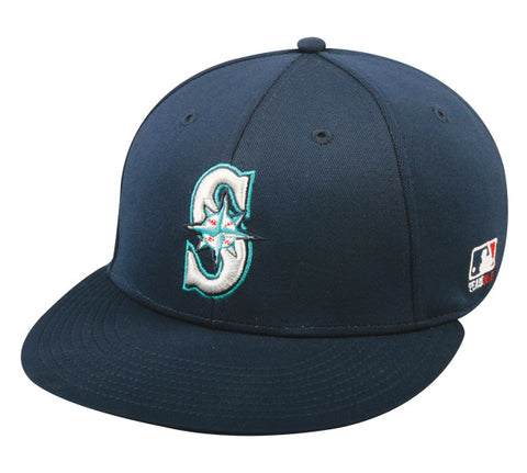 OC Sports MLB-595 Flex Fit Seattle Mariners Home and Road Cap