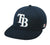 OC Sports MLB-595 Flex Fit Tampa Bay Rays Home and Road Cap