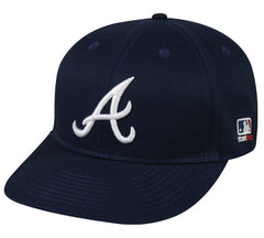 Outdoor Cap Co MLB-300 Atlanta Braves Road Cap