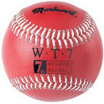 Weighted Baseballs for Pitching 7 oz