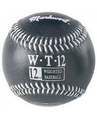 Weighted Baseballs for Pitching 12 oz