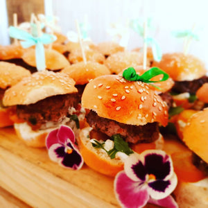 Meat & chicken canapes
