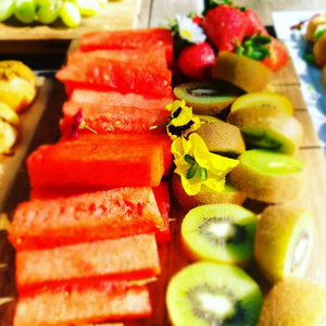 Fresh seasonal fruit platter