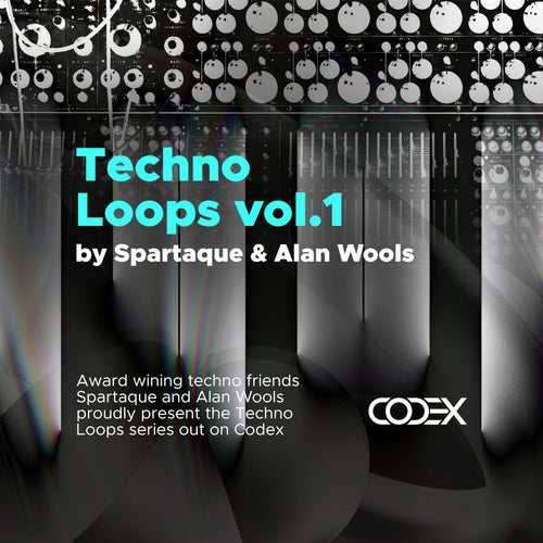 Techno Loops vol.1 by Spartaque & Alan Wools - IAMT Music