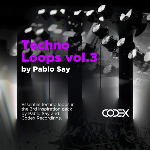 Techno Loops vol.3 by Pablo Say - IAMT Music