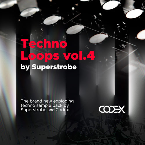 Techno Loops vol.4 by Superstrobe - IAMT Music