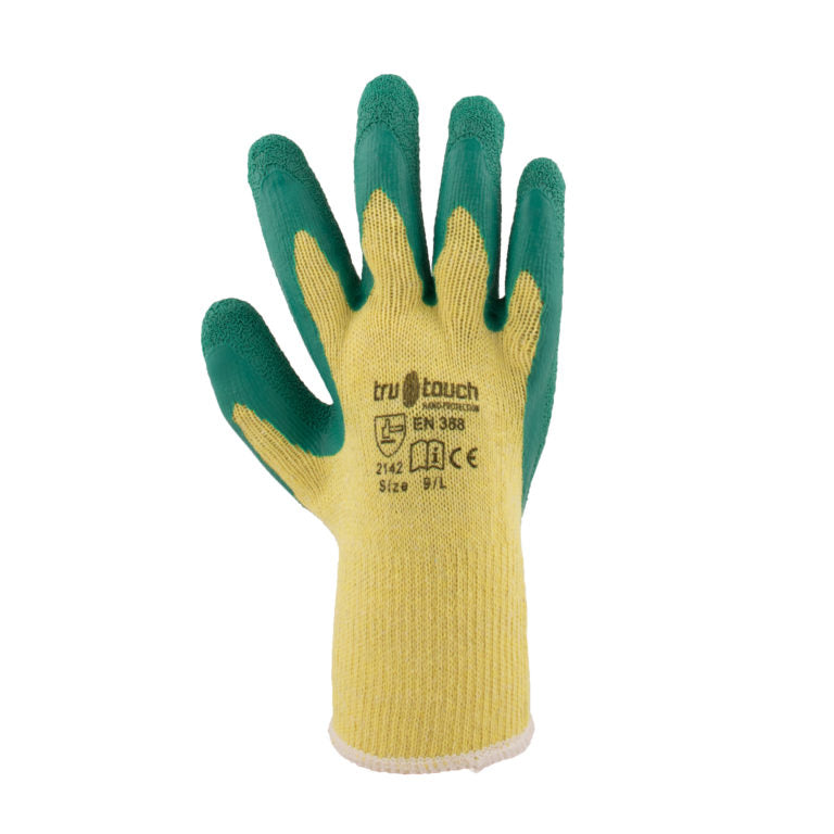 Green Latex Gloves