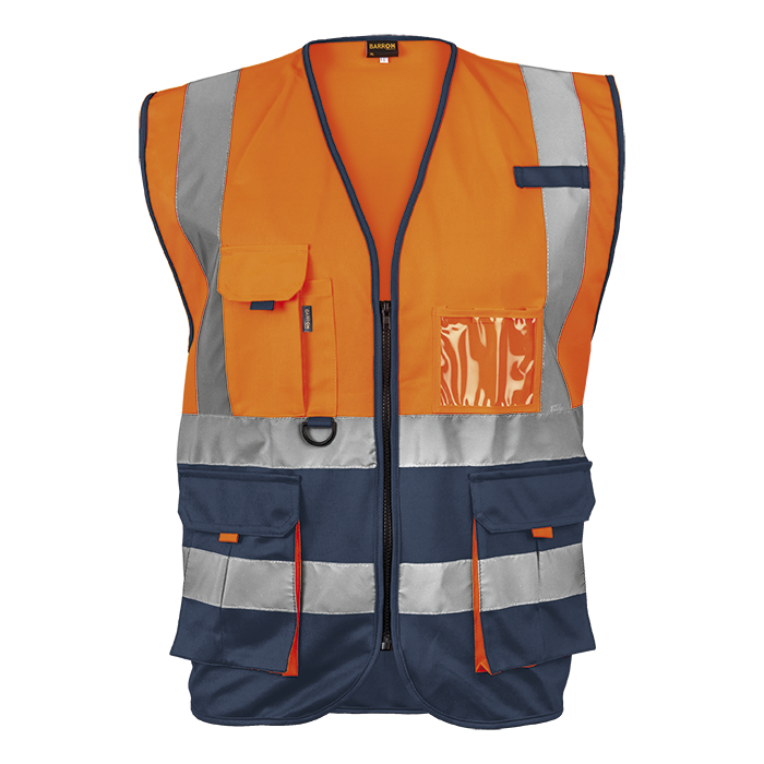 Signal Vest High Visibility Two tone