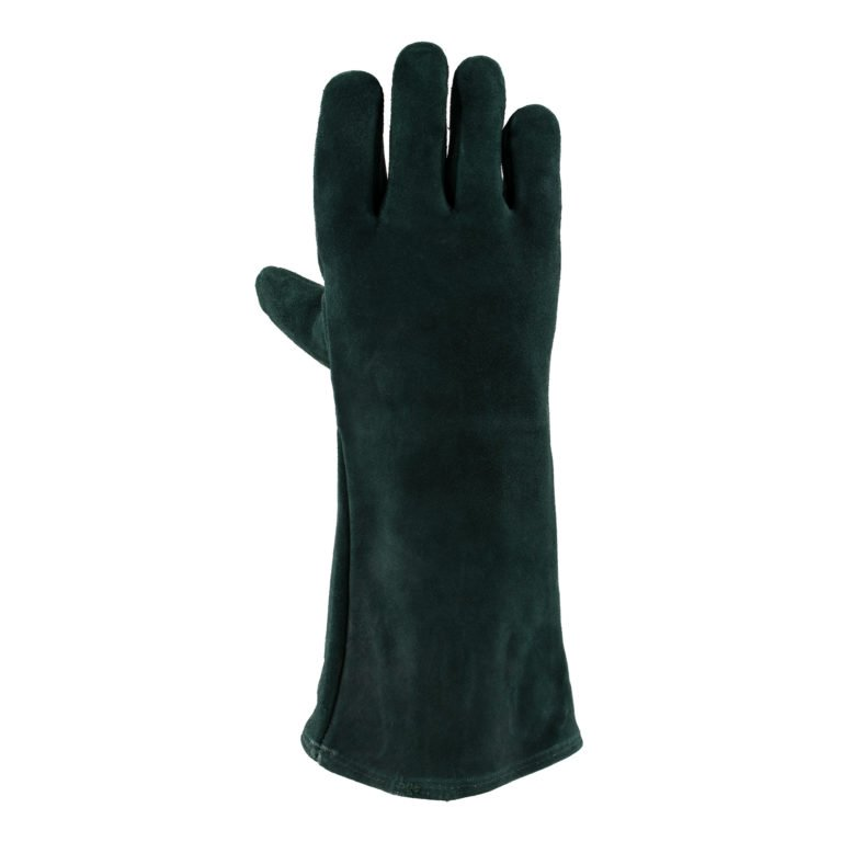 Green Lined Welders Glove
