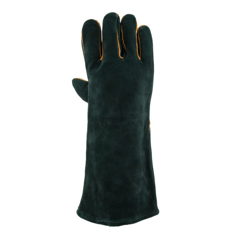 Green Lined Welders Superior Gloves