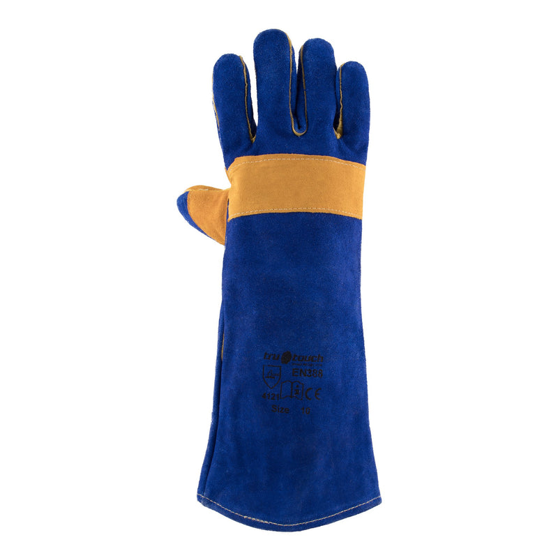 Blue Lined Welders Superior Gloves