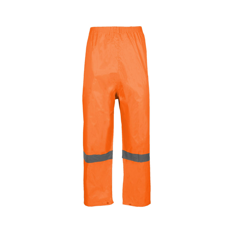 Rubberised Hi Viz Reflective Rainsuit