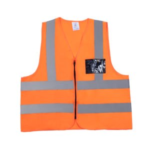 Solid Orange Reflective Vest
