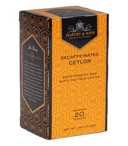 Decaf Ceylon Tea Box