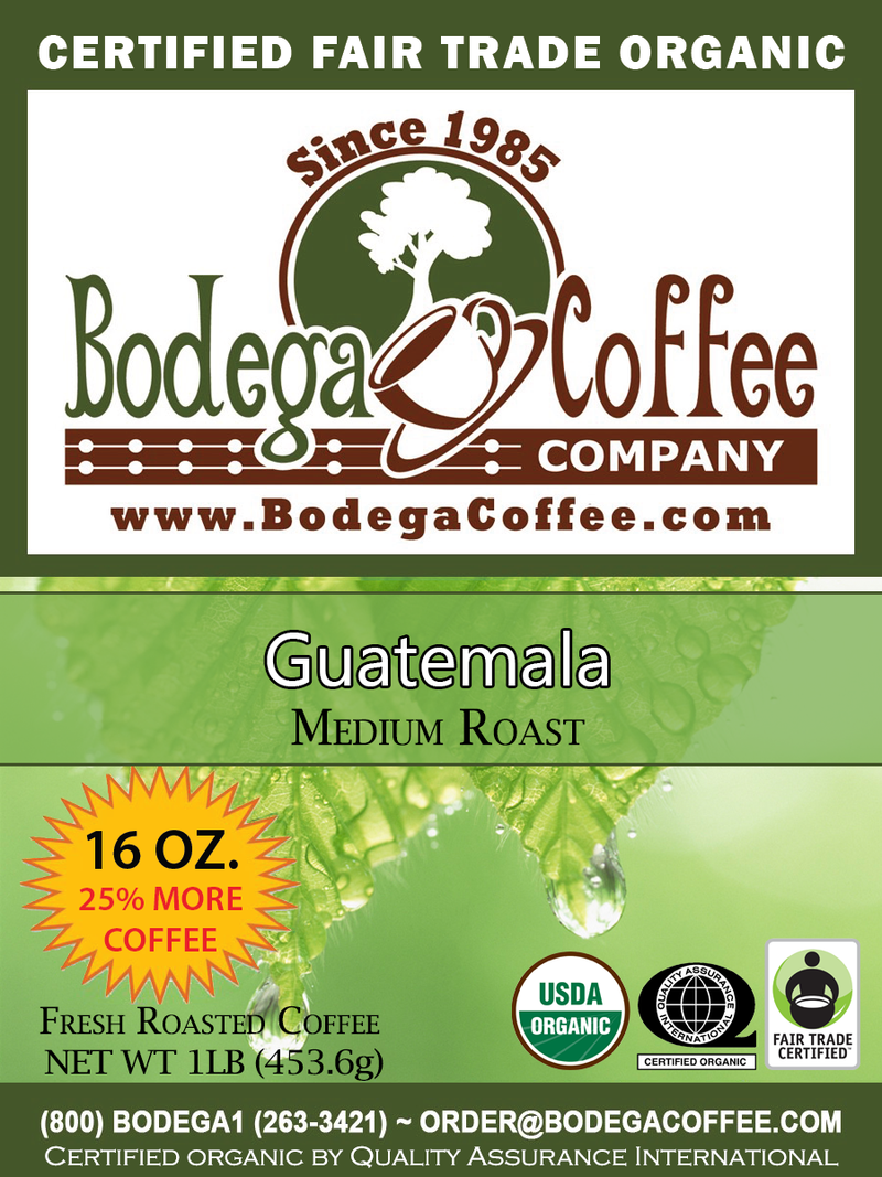FTO Guatemala Medium label