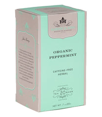 Organic Peppermint Tea Box