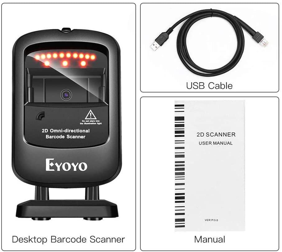 Eyoyo EY-2200 2D Omnidirectional Scanner.3