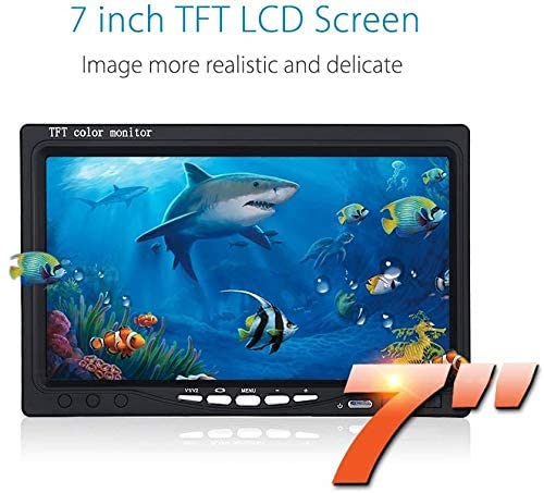 7 inch monitor without DVR function for 7 inch fishing camera