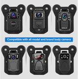 BOBLOV Magnetic Suction Back Clip for Universal Law Enforcement Body Camera