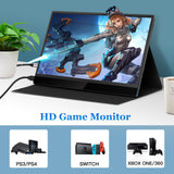 "Eyoyo USB C Monitor 13.3"" IPS LCD Monitor 1920x1080 Support Phone Xbox Switch PS4"