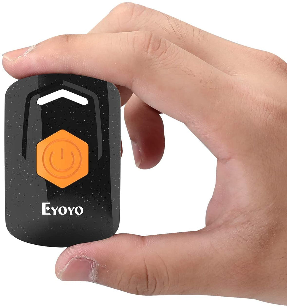 Eyoyo 1D Laser Bluetooth Barcode Scanner EY-021L,Mini 2.4G Wireless & Bluetooth & USB Wired 3-in-1 Barcode Reader