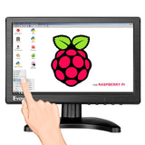 Eyoyo Touchscreen Monitor 10 inch Raspberry Pi 1280x800 IPS Display
