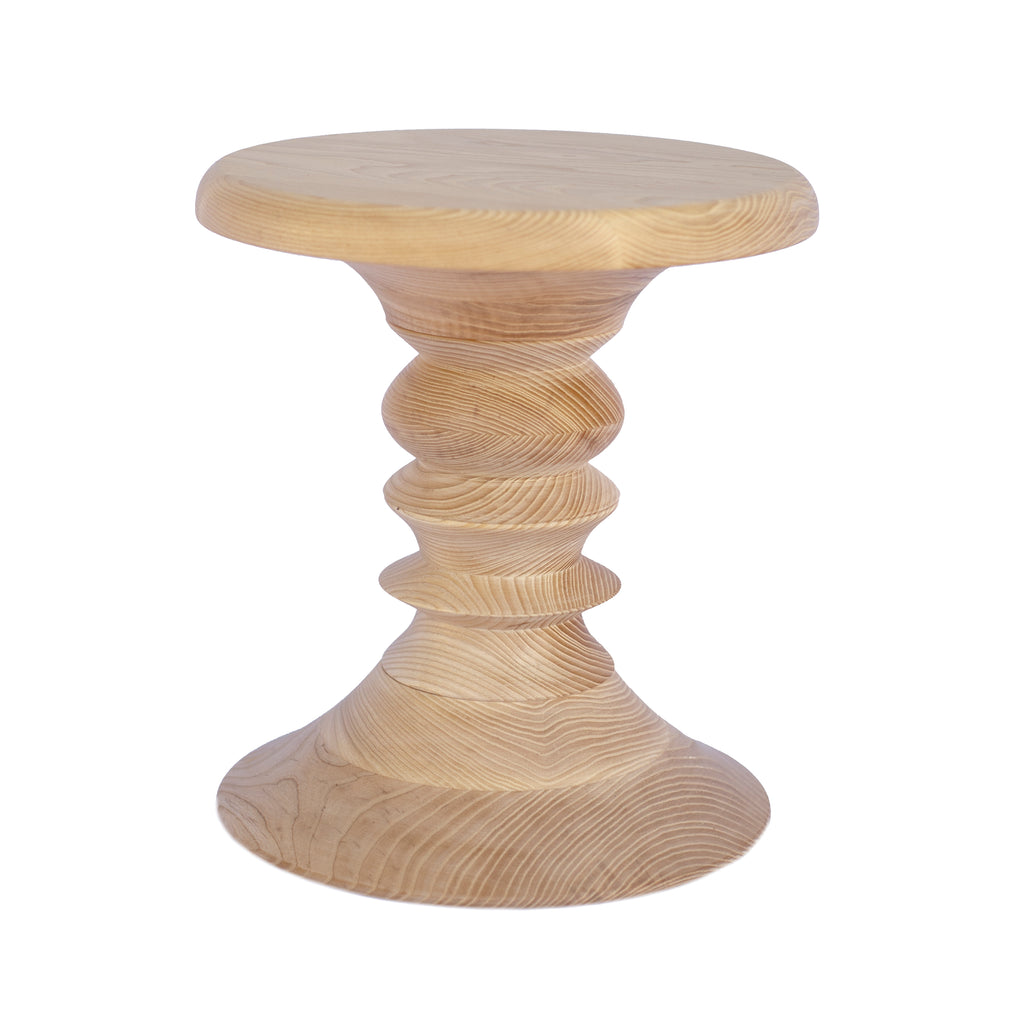 Short Stack Stool natural white ash