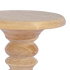 Short Stack Stool natural top