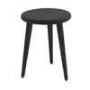 Sèti Side Table Black American Ash 360mmD