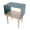 Tòca Side Table 275 Teal top