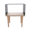 Tòca Side Table 275 Teal front