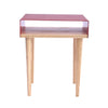 Tòca Side Table 120 Red front