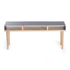 Tòca Console Table Charcoal