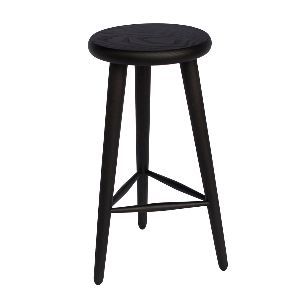 Sèti 650 Bar Stool Black Ash