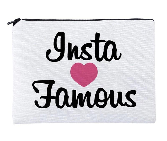 Insta 💖 Famous Cosmetic Bag - LNPCOSMETICS