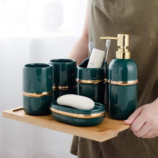 Luxury 5pcs Bathroom Set