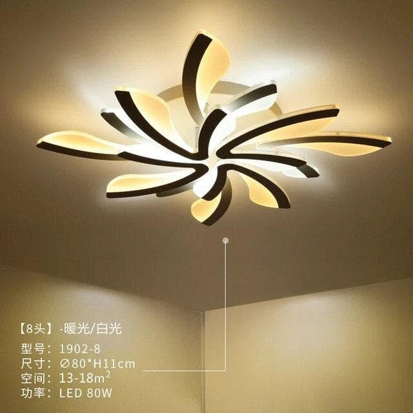 Simple Dandelion Ceiling Light