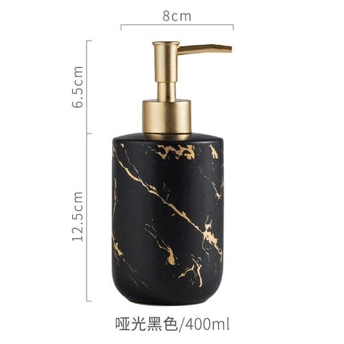 Marble Look Bath Bottle