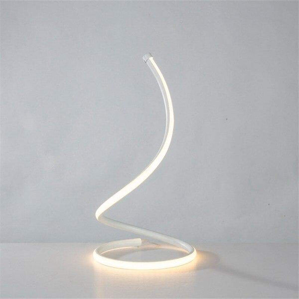 LED Spiral Table Lamp