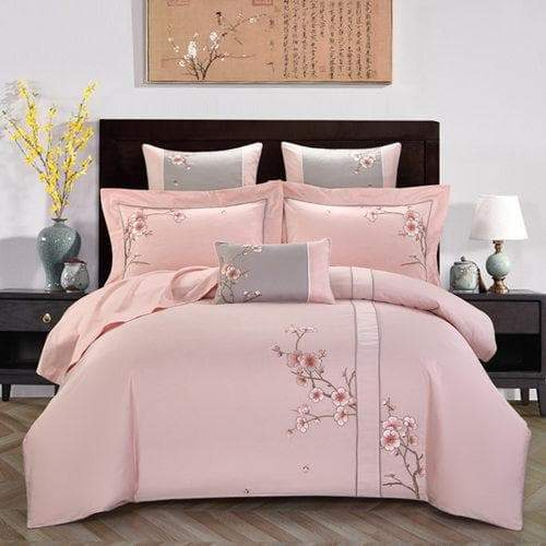 Purple Bedding Set