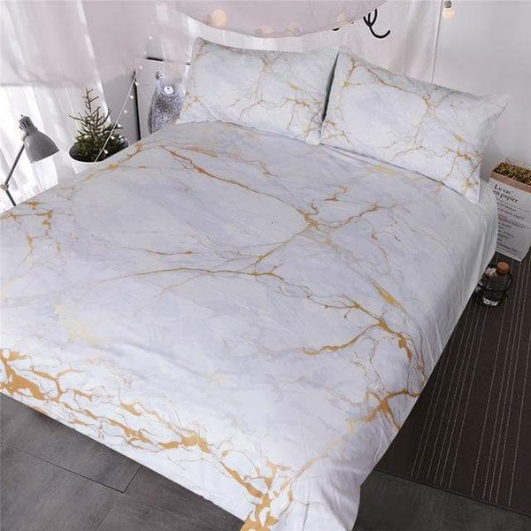 Marble Look Bedding
