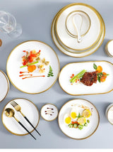 Porcelain Plate Set